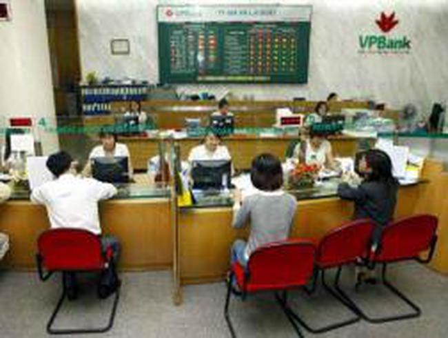 VPBank: Năm 2012 đạt 855,4 tỷ đồng LNTT, tín dụng tăng trưởng 10,1%