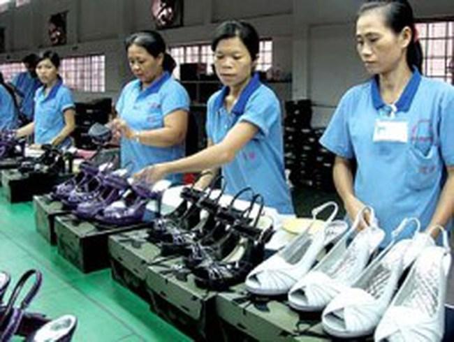 Thị trường giày dép khả quan