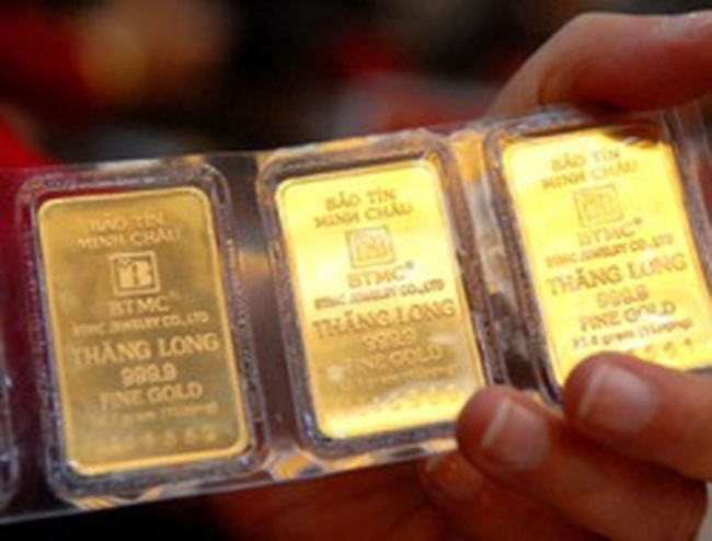 Giá vàng 'phi' SJC có cơ hội về ngang giá vàng SJC