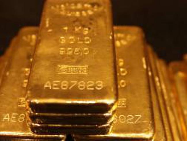 Giá vàng thế giới rớt mạnh