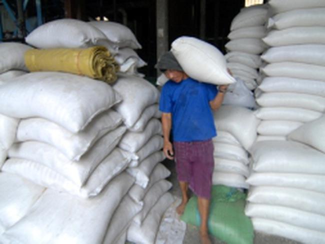 Giá gạo xuất khẩu thấp kỷ lục