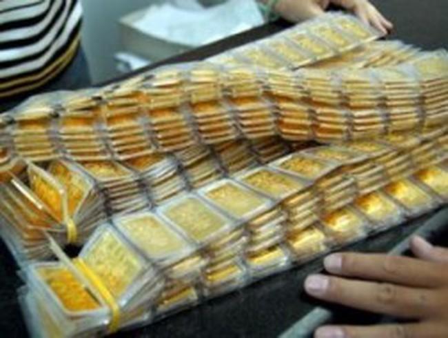 NHNN bán hết 26.000 lượng vàng trong phiên đấu thầu sáng nay