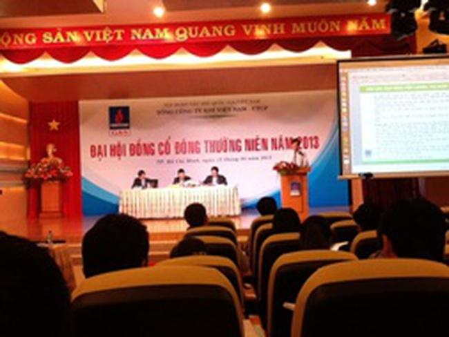 [Trực tiếp] ĐHCĐ GAS: Thông qua trả cổ tức năm 2012 tỷ lệ 30%/mệnh giá