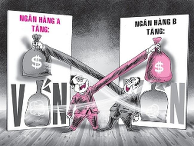 Sở hữu chéo không thể dùng để tái cấu trúc ngân hàng