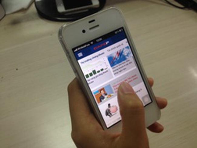 CafeF phát triển ứng dụng trên di động dành cho IOS và Android