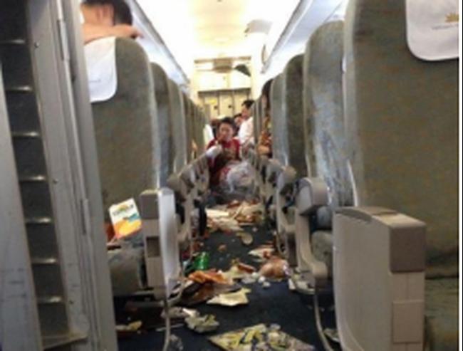 """Vietnam Airlines thông báo về sự cố """"máy bay rơi tự do"""""""