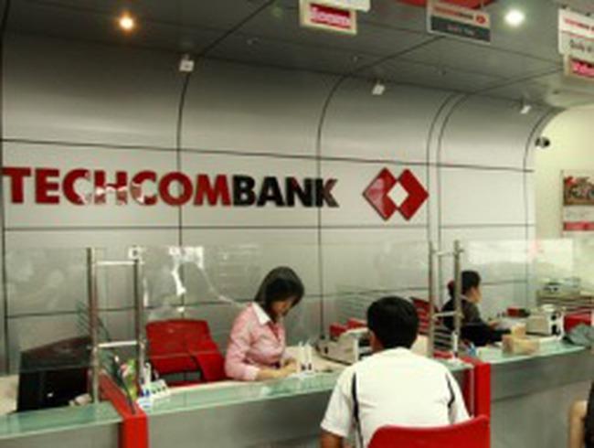 6 tháng đầu năm, Techcombank đạt 653 tỷ đồng lợi nhuận trước thuế