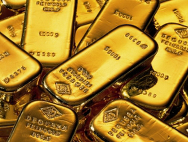 Giá vàng rớt xuống 1.407 USD/ounce
