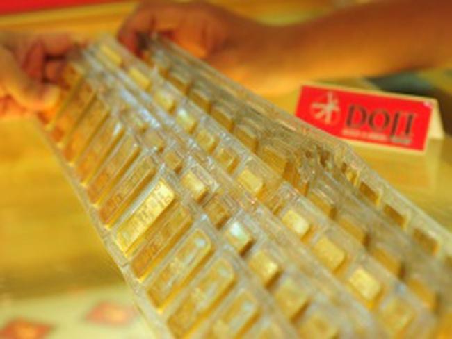 Đầu tuần, vàng trong nước đắt hơn thế giới 3,8 triệu đồng/lượng