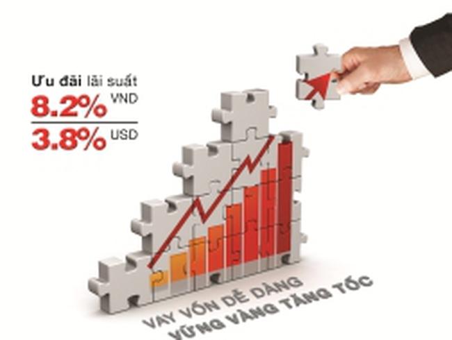 """""""Tiếp sức"""" doanh nghiệp, ngân hàng tiếp tục hạ mạnh lãi suất cho vay"""