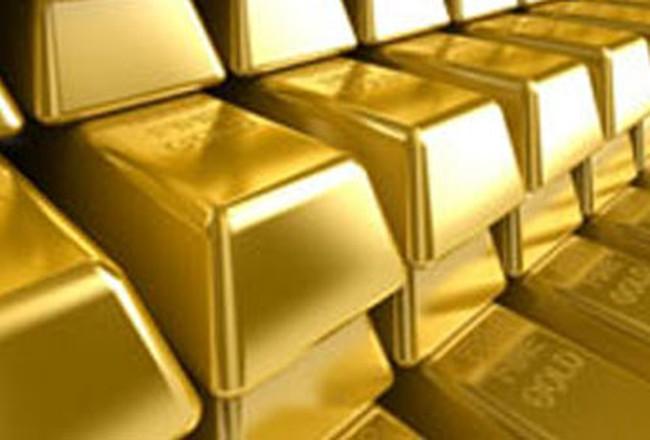 Giá vàng rớt mạnh xuống dưới 1.290 USD/ounce