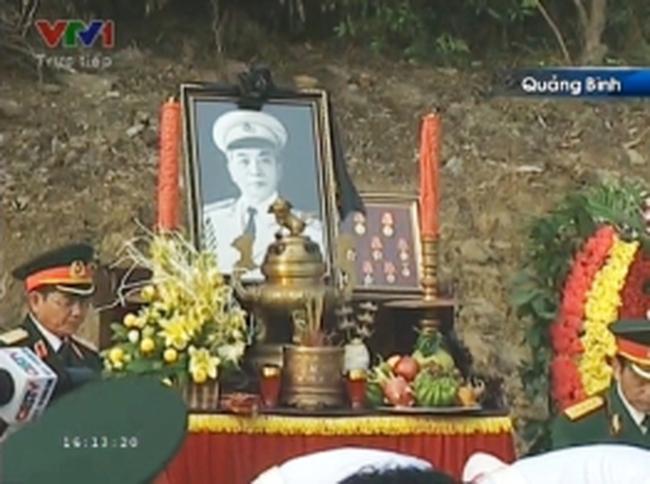 Đại tướng yên nghỉ trong lòng đất mẹ Quảng Bình