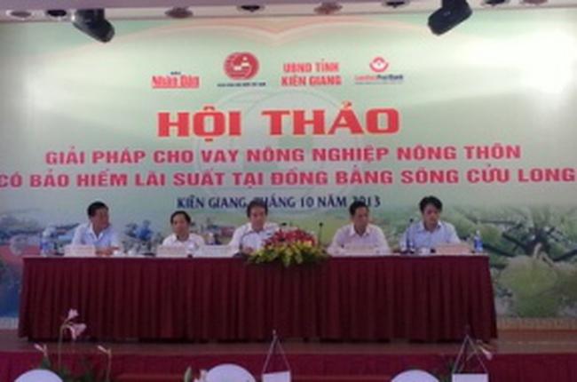 TS Vũ Đình Ánh: Muốn đẩy tín dụng tam nông, phải chú trọng hộ nông dân