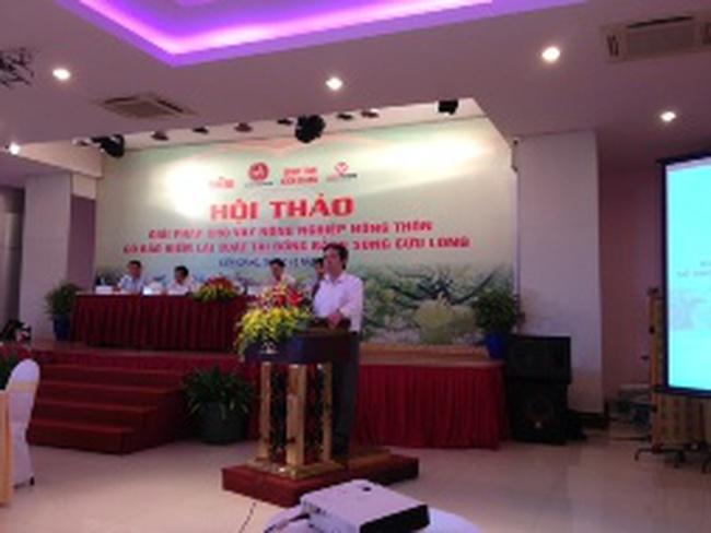 Thống đốc Nguyễn Văn Bình: Giải quyết khó khăn về tín dụng nông nghiệp là vấn đề cấp thiết