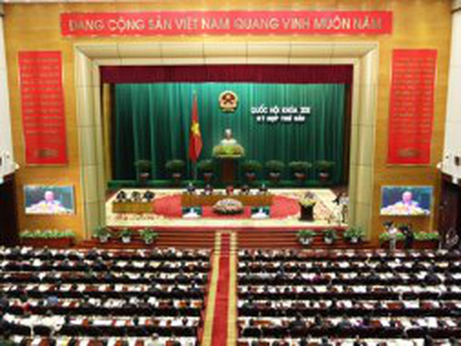 Bổ sung một số báo cáo phục vụ Kỳ họp thứ 6, Quốc hội khóa XIII