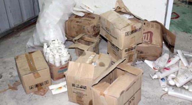 Hà Nội: Bắt gần 1.500 sản phẩm mỹ phẩm nhãn mác ngoại quá đát
