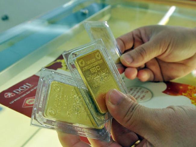 Cuối tuần, giá vàng xuống dưới 36,5 triệu đồng/lượng