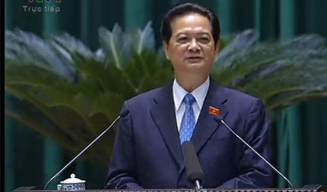 Thủ tướng Nguyễn Tấn Dũng: Tín dụng hết tháng 11 tăng 9%, CPI tăng 5,54%