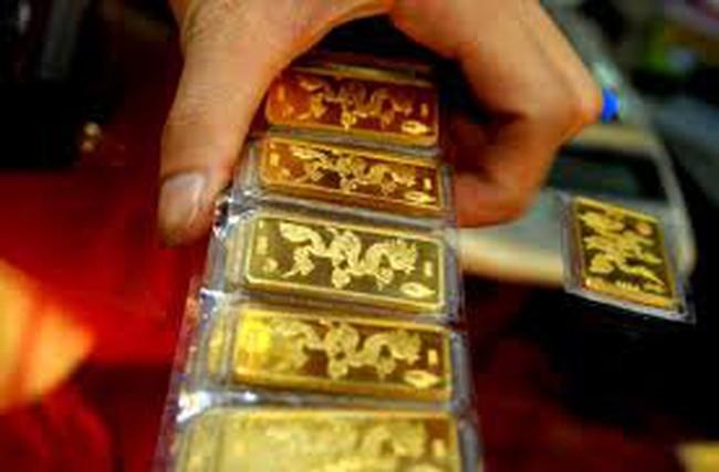 Giá vàng lên 35,5 triệu đồng/lượng
