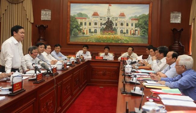 TP. Hồ Chí Minh kiến nghị Ban Kinh tế Trung ương nghiên cứu giúp 5 vấn đề lớn
