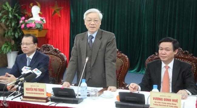 Tổng Bí thư: Ban Kinh tế Trung ương có nhiều đề xuất rất thiết thực và sáng tạo