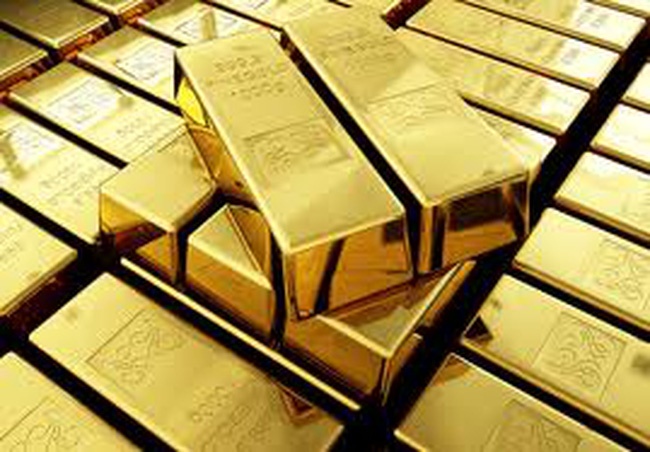 Giá vàng chạm mức cao nhất 6 tuần