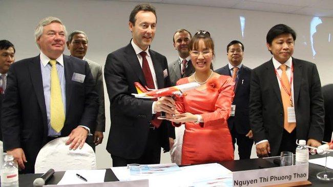VietJetAir mua 63 chiếc máy bay Airbus trị giá 6,4 tỷ USD