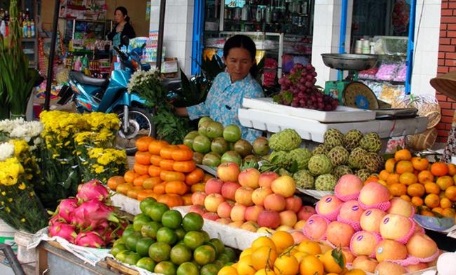 Hoa quả cúng rằm tháng Giêng tăng giá mạnh