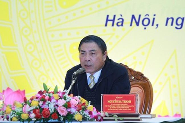 Ban Nội chính Trung ương đôn đốc xử lý vụ Nguyễn Đức Kiên