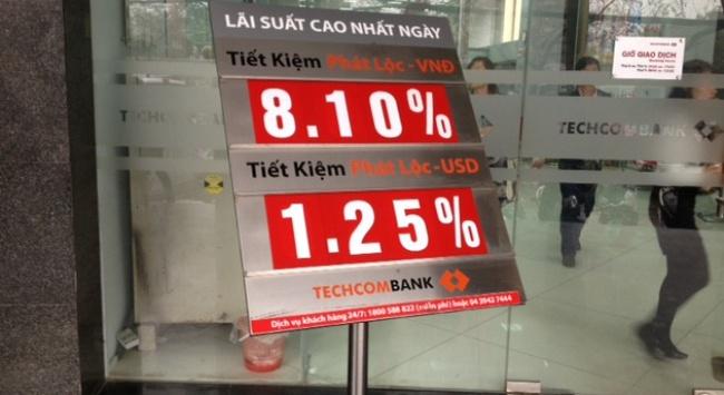 """Lãi suất giảm mạnh nhưng ngân hàng vẫn chưa hết """"khát"""" tiền"""