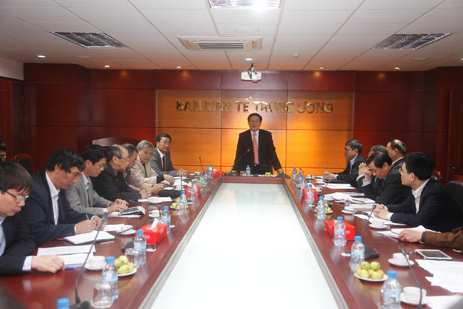 Ban kinh tế TƯ tham vấn ý kiến dự thảo Nghị quyết mới của Bộ Chính trị về CNTT
