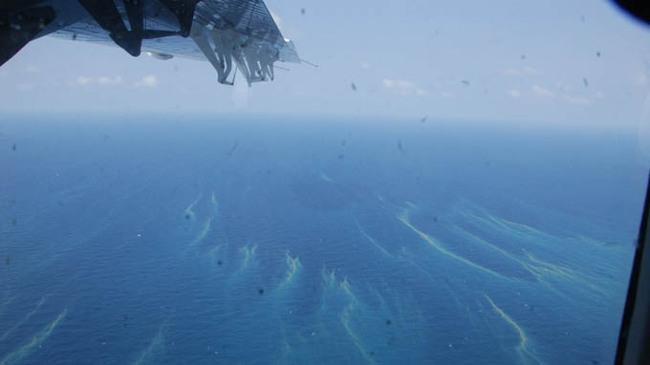Phát hiện một số mảnh kim loại lớn trên mặt biển cách Vũng Tàu 60km
