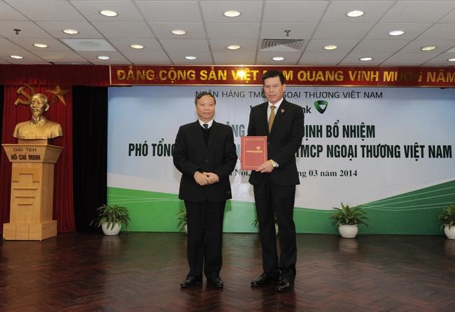 Vietcombank bổ nhiệm ông Phạm Mạnh Thắng làm Phó Tổng giám đốc