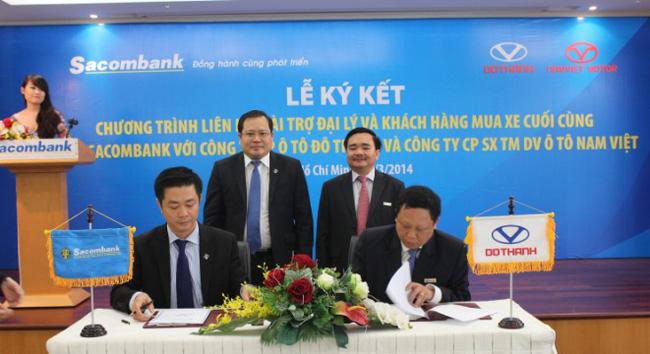 Kích cầu, ngân hàng tài trợ vốn cho khách hàng và DN kinh doanh ô tô