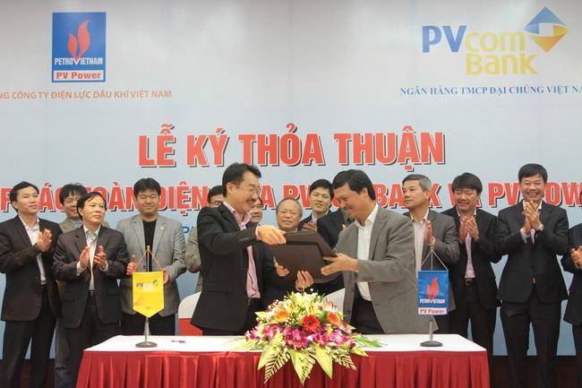 PVcomBank hợp tác toàn diện với Tổng công ty Điện lực Dầu khí