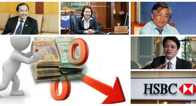 Các lãnh đạo ngân hàng nói gì về quyết định hạ lãi suất huy động?