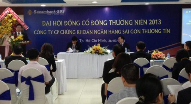 ĐHCĐ Sacombank-SBS: Không sáp nhập với chứng khoán Phương Nam