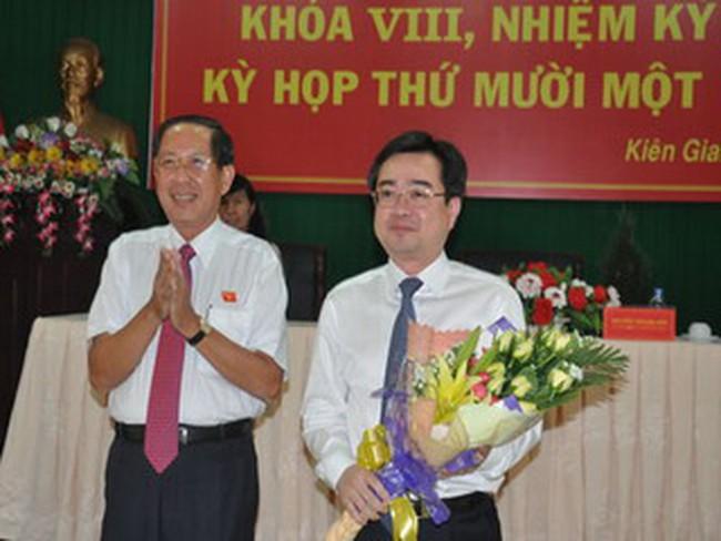 Ông Nguyễn Thanh Nghị được bầu làm Phó chủ tịch UBND tỉnh Kiên Giang