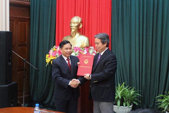 Công bố quyết định bổ nhiệm Vụ trưởng Vụ Kiểm toán nội bộ NHNN