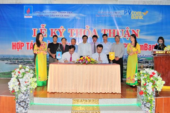 PVcomBank ký thỏa thuận hợp tác toàn diện với PVCFC
