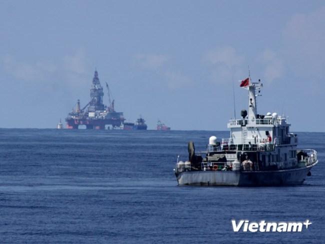 Nóng từ Hoàng Sa: Xuất hiện máy bay trinh sát điện tử Trung Quốc