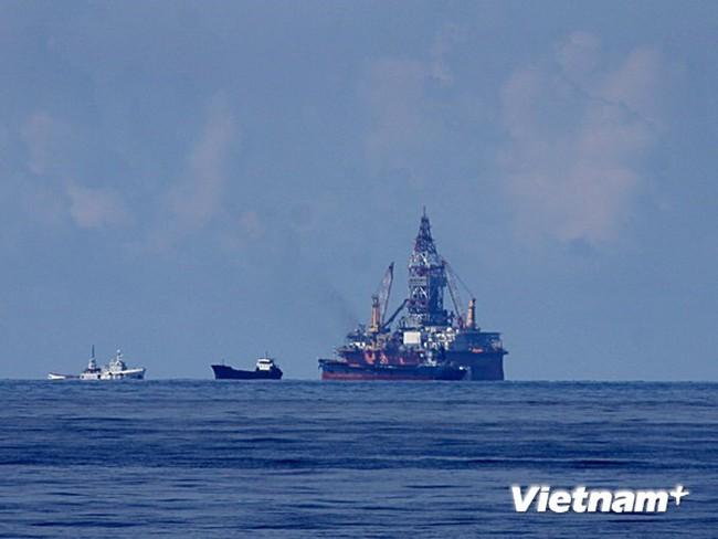 Trung Quốc tổ chức 35-40 tàu ngăn cản quyết liệt tàu chấp pháp Việt Nam