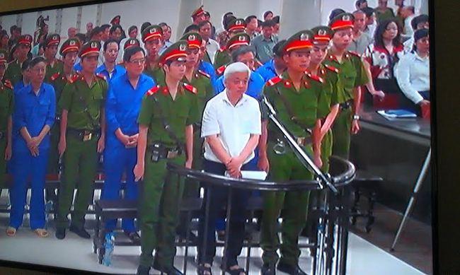 Tòa sơ thẩm tuyên Nguyễn Đức Kiên lãnh án 30 năm tù giam