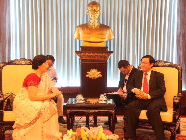 Ấn Độ mong muốn đẩy mạnh hợp tác với Việt Nam trong lĩnh vực dệt may, dầu khí