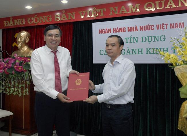 Phó TGĐ Agribank Nguyễn Tiến Đông lên làm Vụ trưởng Vụ Tín dụng NHNN