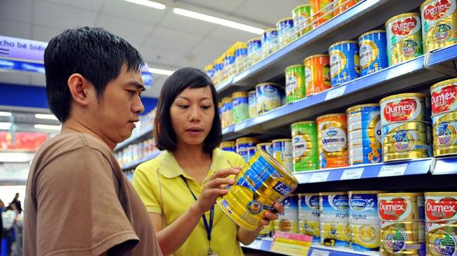 Công bố giá 141 sản phẩm sữa dành cho trẻ em dưới 6 tuổi