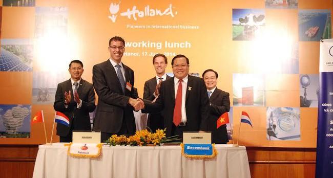 Sacombank và Rabobank hợp tác phát triển sản phẩm tài chính