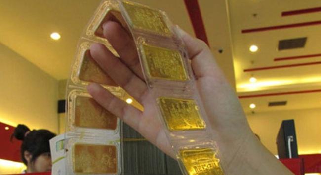 Giá vàng lại vượt 36,5 triệu đồng/lượng