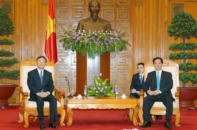 Thủ tướng Nguyễn Tấn Dũng tiếp Ủy viên Quốc vụ Trung Quốc Dương Khiết Trì