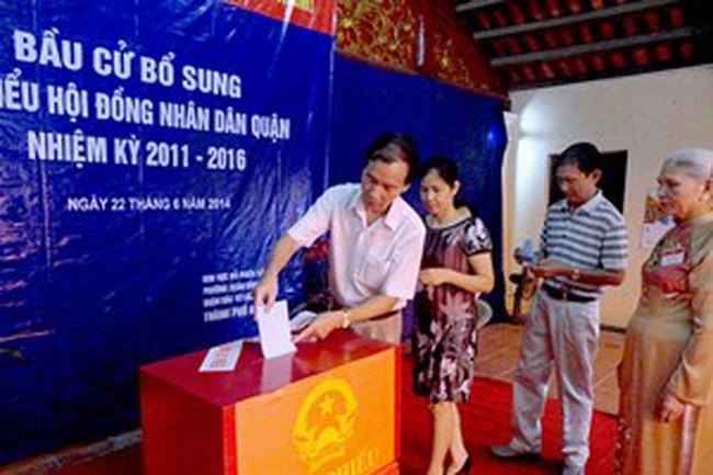 Hà Nội: 2 quận mới bầu bổ sung đại biểu HĐND